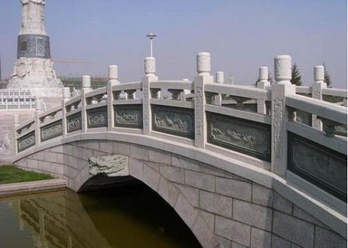 浮雕桥栏板